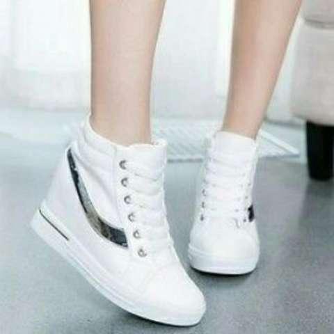 Azkashoes Sepatu Boots Wanita Putih M - Daftar Harga Terlengkap ... 78e6bc08bf