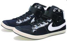 BSM Soga BLG 218 Sepatu Kasual/ Kets/ Sekolah/ Sport Pria Syntetic - Keren - Hitam