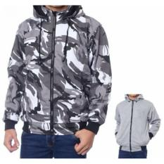 BY JAKET BB 2IN1 CANVAS ARMY LORENG-ABU PRIA
