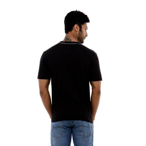 Carvil Menblk-A4 T Shirt Man - Black