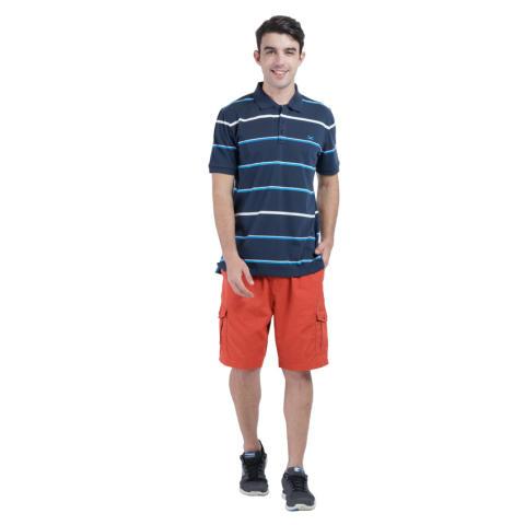 Carvil Nautico Men's Polo Stripe - Kombinasi