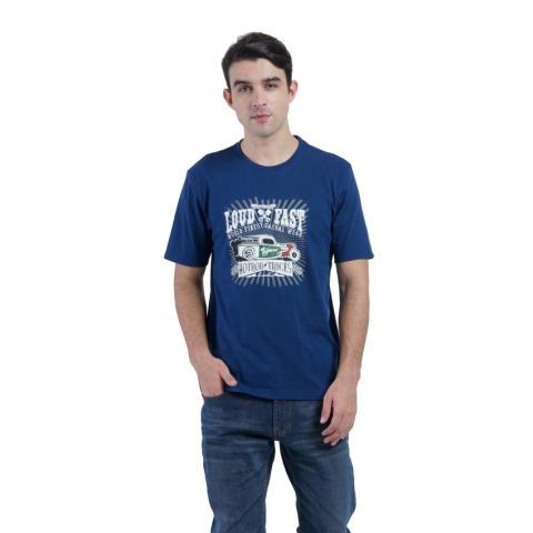 Carvil Tesco Men's T-shirt - Biru