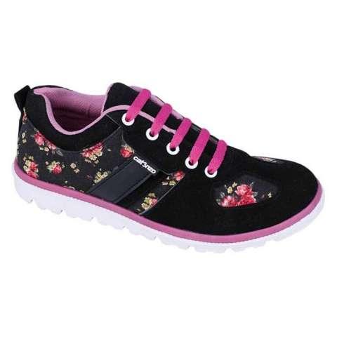 Catenzo HM 015 Sepatu Sneaker Wanita - bahan canvas - tpr outsole - gaul dan sporty