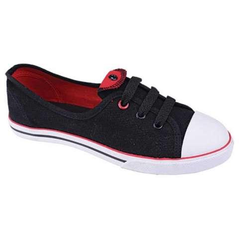 Catenzo JA 015 Sepatu Sneaker Wanita - bahan canvas - rubber outsole - gaul dan sporty