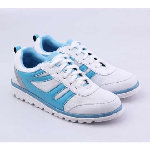 Catenzo Sepatu Sporty Sneakers Wanita SDx023 White Comb