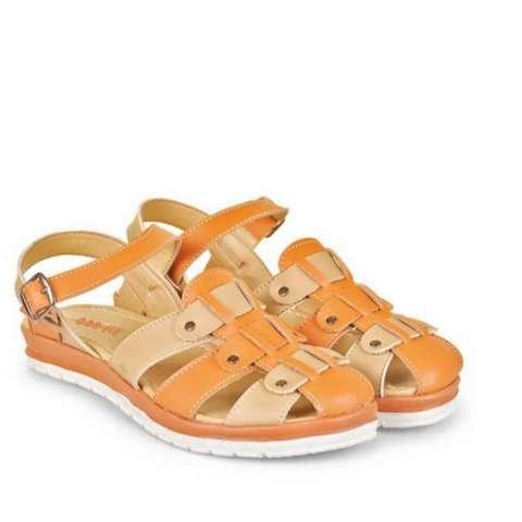 CBR Six Sandal Heels Wanita 379- Orange