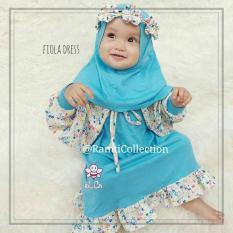 celana anak + atasan anak   muslim anak set I gamis anak anak I setelan baju muslim anak perempuan I fiola