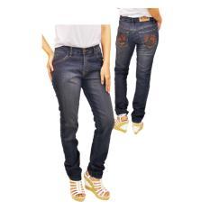 celana casual wanita /celana jeans stretch wanita terbaru lxc 726.. Keren BAnget..!!
