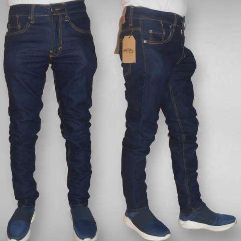 Celana Jeans Skinny Fit Branded Berkualitas - Biru Dongker