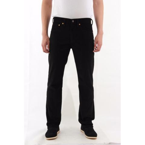 Celana Jeans Standar Regular Pria - Hitam