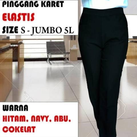 Beli Jeans Karet Pinggang Store Marwanto606 Source · Celana Kerja Pinggang  Karet Celana Kerja Wanita Panjang 8e4b64a0e2