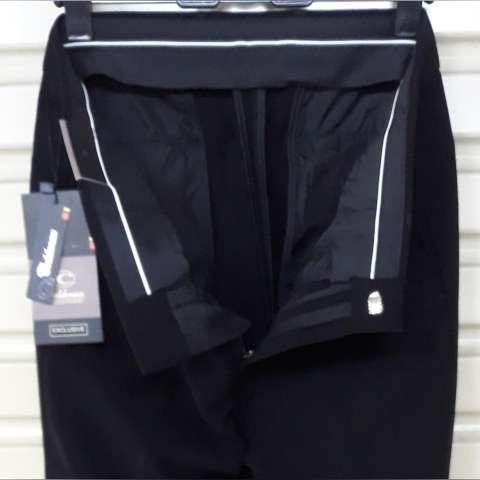 celana panjang pria formal kerja kantoran HITAM bahan TEFLON slim fit bagus  murah 617913f700