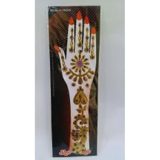 cetakan henna tempel