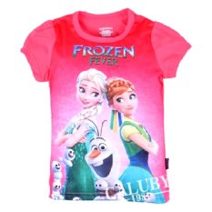 Chloe's Clozette T-shirt Frozen Fever - SS 24 - Pink