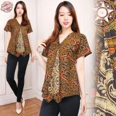 Cj collection Atasan batik blouse kemeja abaya kebaya wanita shirt Githa
