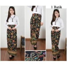 Cj collection Rok lilit batik panjang wanita jumbo long skirt Liliana