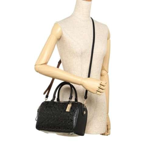 Tas Coach Mini Bennett Debossed Black F11920 Bag . Authentic Original Asli  USA Store 2 83e0e59b16