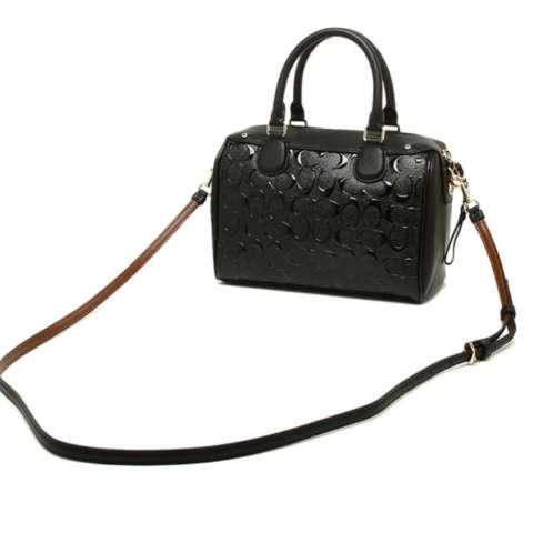Tas Coach Mini Bennett Debossed Black F11920 Bag . Authentic Original Asli  USA Store 1 1f2a388118