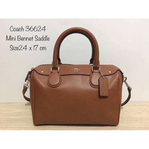 Tas Coach MINI Bennett Leather. Authentic Original Asli USA Store Counter 2 58c454f6dd