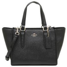 Coach MINI Crosby Leather Black Authentic Original Store