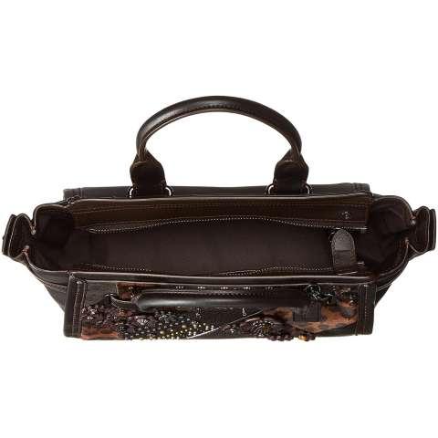 Tas Coach Swagger 27 Black Multi Floral 55503 Medium Authentic Original USA  Asli Store 4 a037f3995e
