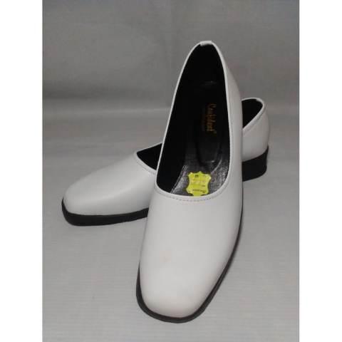 Confident - Sepatu Pantofel Polos Wanita - Sepatu Formal Wanita - Warna Putih