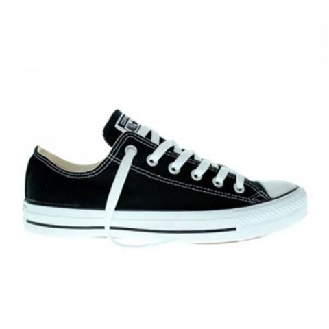Converse Chuck Taylor All Star Canvas Low Cut Sneakers Unisex Chuck Size - Black - BTS