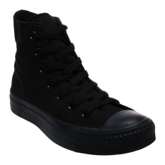 Converse Chuck Taylor All Star Classic Colour High Top Sepatu Sneakers - Mono Black