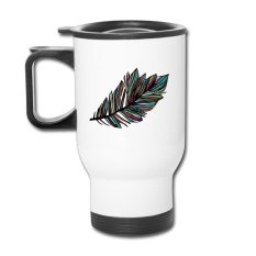 Cool Coffee Cup Leaf Color Autumn Fall Leaf Photo Mugs With Bottle Cap 14 Oz tumbler glasses stainless steel bottle
