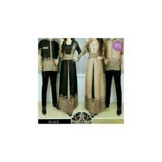 couple baju muslim - couple elegan batik - elegant harga sepasang