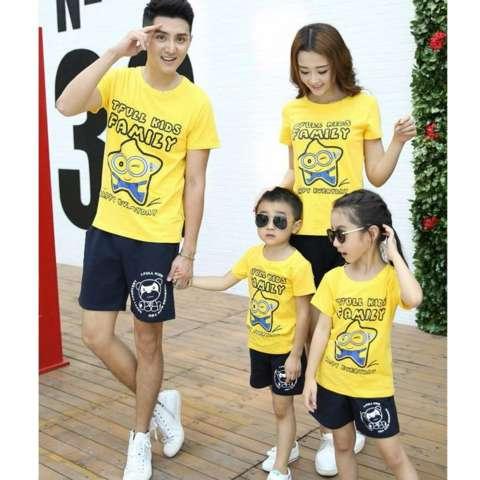Jual Couple Store Cs Kaos Keluarga T Shirt Family Ayah Bunda Anak Source · COUPLELOVER FAMILY KEMBARAN BAJU KELUARGA STARS FAMILY YELLOW FASHION FAMILY ...