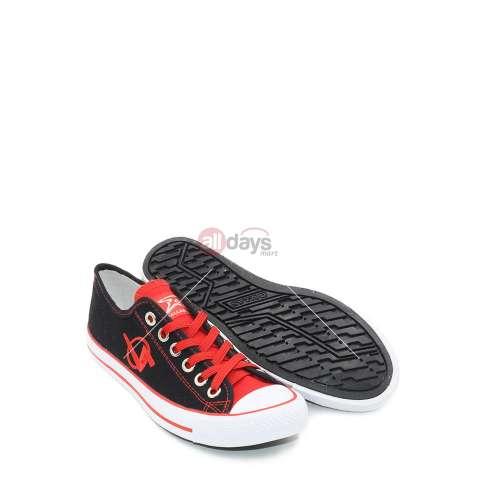 DALLAS Sepatu Sneakers Casual Kanvas Pria Wanita CAMPUS LC - Black Red 37-42 62d2a66a0b