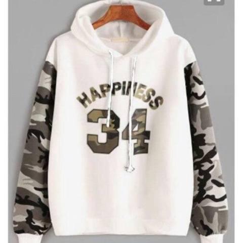 Damai - jaket sweater happiness 34 army hoody - konveksi