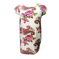Daster Midi Motif Bunga Cantik Baju Tidur Wanita