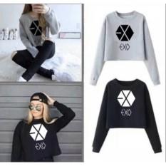 DaveCollection - Sweater Crop EXO Long Sleeve