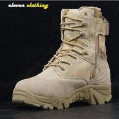 Dbest Eleven Clothing - Sepatu Boot Hiking Delta High 8 inch Quality Outdoor - Gurun