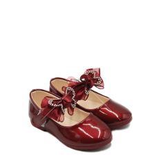 Dea Sepatu Flat Anak Perempuan 1704-138 – Maroon Size 26-30