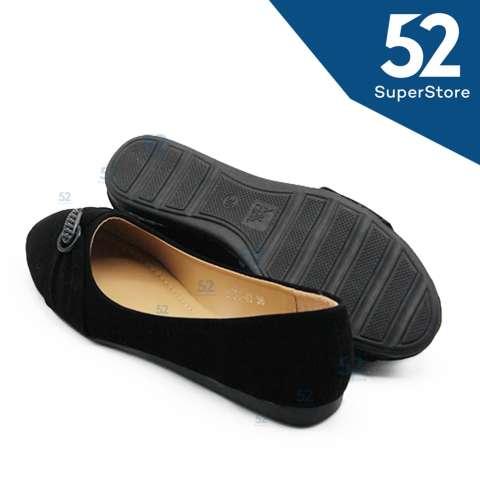Arlaine Brukat Suede Flat Shoes Black - Daftar Harga Terbaru ... 43d7d9ae30