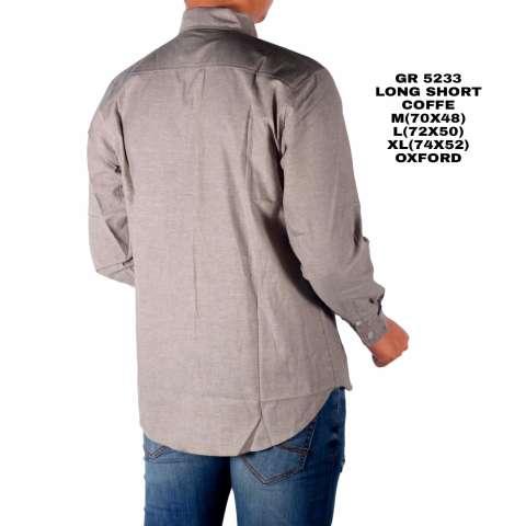 Dgm_Fashion1 Kemeja Pria Polos Oxford Lengan Panjang/Kemeja Polos/Kemeja Batik/Kemeja Casual/Kemeja Distro/Kemeja Jeans/Kemeja Denim/Kemeja Wol/Kemeja Pantai/Kemeja Flanel/Kemeja Panjang/Kemeja Songket/Kemeja Formal/Kemeja HEM GR 5233 3