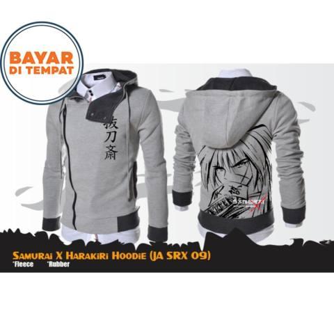Sweater flecee tebal jaket hoodie anime doraemon oblong Shopee Source · Jaket Anime Hoodie Harakiri Samurai