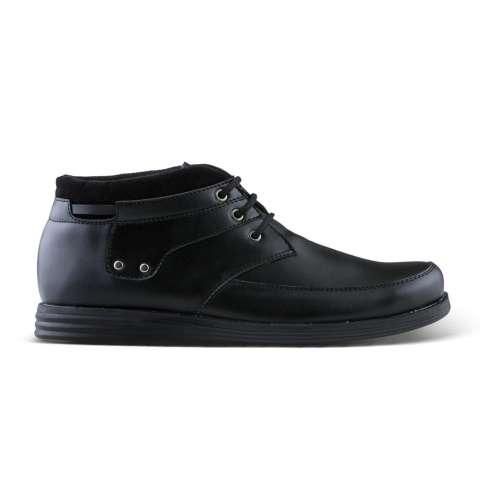 Sepatu VD 488 Sepatu Boots Formal Pantofel Pria Untuk Kerja dan Kantor  Kulit Sintetis - Hitam 40a5327dd8