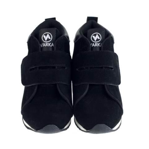 Sepatu VDB 444 Sepatu Sneakers Kets dan Kasual Anak bisa untuk Sekolah dan Olahraga - Hitam