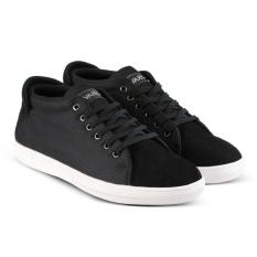 Sepatu VDB 458 Sepatu Sneaker kets dan Kasual Pria utk santai, jalan, kuliah, kerja, sekolah - Hitam