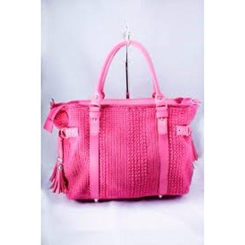 Djogja Klasik Craft Tas Rajut Ametis - Pink