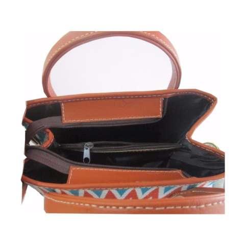... Djogja Klasik Craft Tas Kulit Asli Spedy Lukis Kawung Bunga Cokelat Source Djogja Klasik Craft Tas