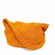 Djogja Klasik Tas Rajut Arumi - Orange