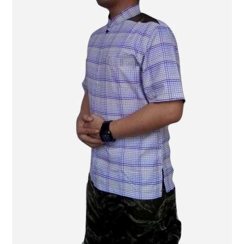 dm Baju Koko Pria Lengan Pendek Bahan Tekstile India (dm09C)