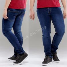 DnR celana Denim jeans pria Original Stretch - Biowash