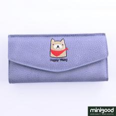 minigood TERLENGKAP dompet panjang desain animal ritsleting dalam bisa simpan uang KTP ATM SIM foto