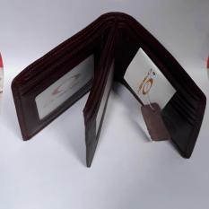 DOMPET / TEMPAT UANG KULIT ASLI 3 DIMENSI MERK OKLEY MODEL SAMPING